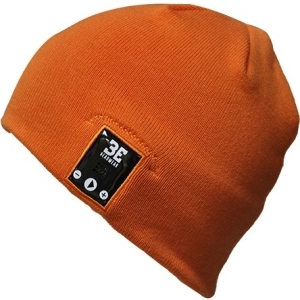 Image of BE Headwear Justright Bluetooth Smart Beanie - Burnt Orange