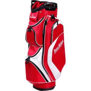 Tour Edge Golf Hot Launch Cart Golf Bag (Red)