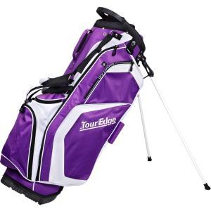 Tour Edge Golf Hot Launch Stand Golf Bag (Purple)