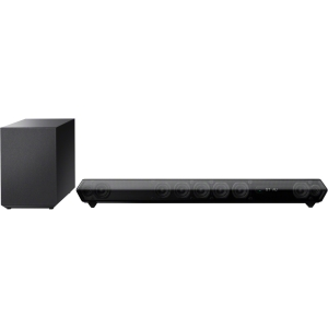 Sony HT-ST5 7.1 Sound Bar Speaker - 380 W RMS - Shelf Mountable, Stand Mountable, Wall Mountable - Wireless Speaker(s) - Dolby Digital, DTS, Dolby TrueHD, Dolby Digital Plus, S-Force PRO Front Surround, DTS 96/24, Dolby Dual Mono - Bluetooth - iPod Suppor