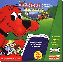 Clifford The Big Red Dog - Reading