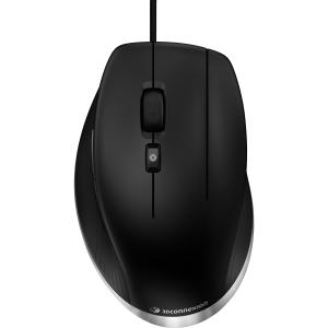 Image of 3D Connexion 3DX-700052 CadMouse USB Mouse, Matte Black