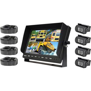 Pyle PLCMTR104 Weatherproof Rearview Backup Camera & Monitor Video System