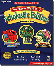 Scholastic Adventure Workshop Preschool - 1st Grade