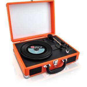 BT CLASSIC VINYL RECORD PLAYER TURNTABLE W/ VINYL TO MP3 RECORD