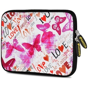 """Image of Amzer Carrying Case (Sleeve) for 10.5"""" Tablet, Digital Text Reader - Butterfly"""