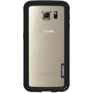 Image of Amzer Border Case - Black for Samsung Galaxy S6 SM-G920F