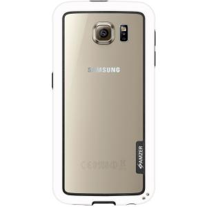 Image of Amzer Border Case - White for Samsung Galaxy S6 SM-G920F