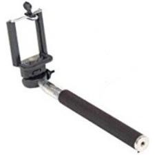 WorryFree Gadgets Monopad Selfie Stick, Black