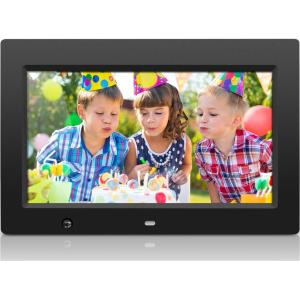 Image of Aluratek - ADMSF310F - Aluratek 10 inch Digital Photo Frame with Motion Sensor and 4GB Built-in Memory - 10 LCD Digital