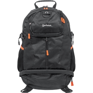 Deals Manhattan Trekpack Heavy-Duty Top-Loading Backpack for 17 Laptops, Black/Orange Before Special Offer Ends