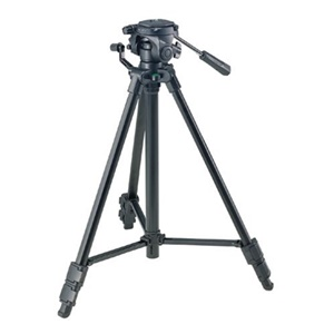 "Sony VCT-R640 Tripod - 21.62"" to 56.75"" Height - 6.61 lb Load Capacity - Black"