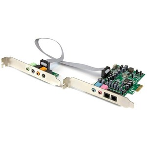 Click here for StarTech.com 7.1 Channel Sound Card - PCI Express... prices