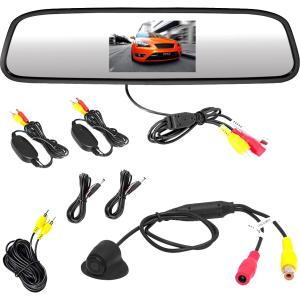 Click here for Pyle PLCM4370WIR Wireless Backup Camera & Mirror M... prices