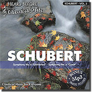 Heard Before Classical Hits: SCHUBERT Vol. 2 (Audio)