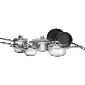 Click here for 11pc Stainless Steel Cookware Set prices