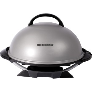 Image of Applica GFO240S George Foreman 15 Serving Indoor/Outdoor Electric Grill