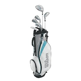 Wilson Girl`s Youth Profile Jr. Golf Set (Large)