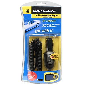 Body Glove Car Charger for Nokia Mobile Phones