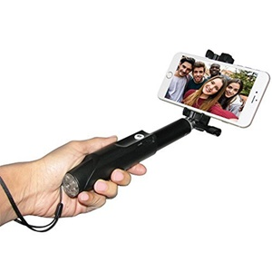 """Image of Amzer Bluetooth Selfie Stick - 8.20"""" to 32.60"""" Height"""