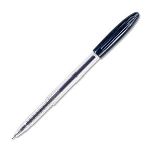 Integra Texture Grip Gel Pen (.5 mm) - Blue, 12 pack