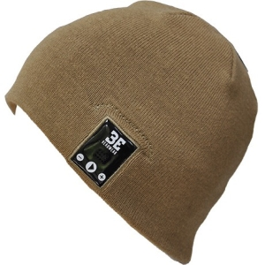 Image of BE Headwear JustRight Bluetooth Tight Fit Beanie, Brown