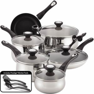Click here for Farberware New Traditions Stainless Steel 14-Piece... prices