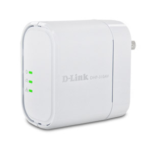 D-Link DHP-310AV 200 Mbps PowerLine AV Mini Adapter