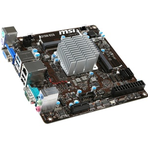 MSI N3150I ECO Mini-ITX DDR3 Desktop Motherboard w/ Intel Celeron N3150 2.08 GHz