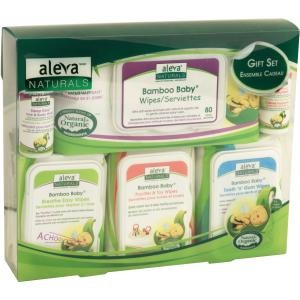 Image of Aleva Naturals Bamboo Baby Gift Set