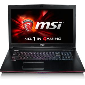 MSI GE72 Apache Pro-029 17.3 Gaming Laptop w\/ 16GB RAM, 1TB HDD & 128GB SSD