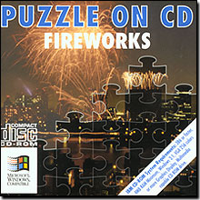 Puzzle On CD - Fireworks