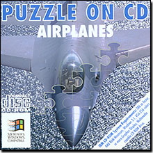 Puzzle On CD - Airplanes