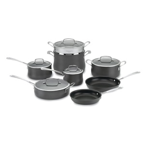 Click here for Cuisinart 64-13 Contour Hard Anodized 13-Piece Coo... prices