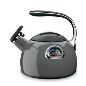 Cuisinart PTK-330GG PerfecTemp Teakettle, Graphite Gray