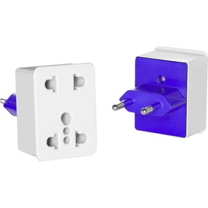 Image of Travel Smart by Conair Dual-Outlet Adapter Plug