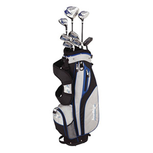 Tour Edge HP25 Junior's Left-Hand Golf Starter Set - Youth (Black)