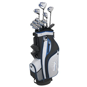 Tour Edge HP25 Left-Hand Regular Flex Complete Golf Set - Men's (Black)