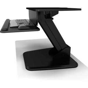 Image of Atdec Freestanding Sit-To-Stand Workstation w/ Keyboard Support