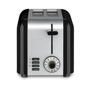 Cuisinart CPT-320 Compact Stainless 2-Slice Toaster, Brushed