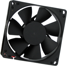 "Case Fan 3x3"" to Power Supply with Pass-Thru Connector"