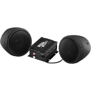 Boss Audio MCBK420B Black 600W Motorcycle/ATV Sound System w