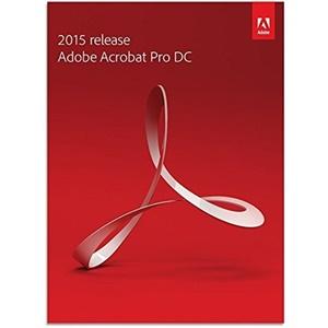 Image of Adobe Acrobat Pro DC 2015 for Mac
