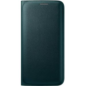 Samsung Carrying Case (Wallet) for Smartphone - Green - Polyurethane Leather
