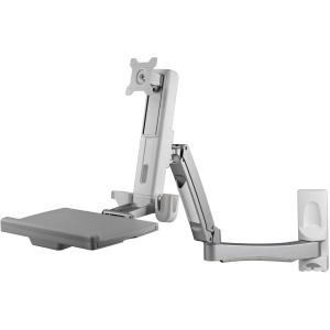 Image of Atdec A-STSWW Wall Mounted Sit-To-Stand Workstation
