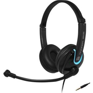 Image of Andrea Communications EDU-255M On-Ear Stereo Mobile Headset - Black