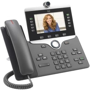 Cisco IP Phone 8845, Charcoal