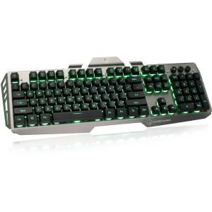 IOGear Kaliber Gaming HVER Aluminum Gaming Keyboard - Black\/Gray
