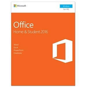 Microsoft Office Home and Student 2016 for Windows P2 (Medialess)