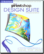 PrintShop Design Suite Professional Edition (Complete 5 in 1 Suite)